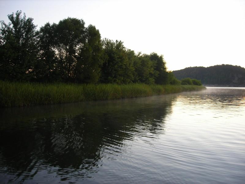 Big indiana bass for Lake chickamauga fishing